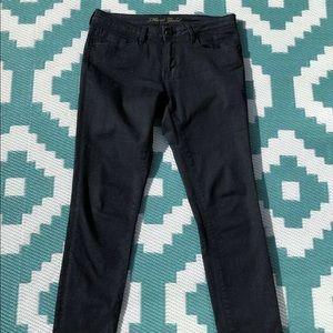 Mavi Skinny Jeans - Dark Blue Sparkle Shimmer